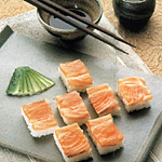 Sushi con salmone
