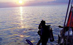 Al termine di ogni immersione, l'attrezzatura va risciacquata con acqua dolce