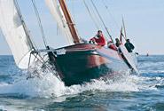 Una skutsja in regata